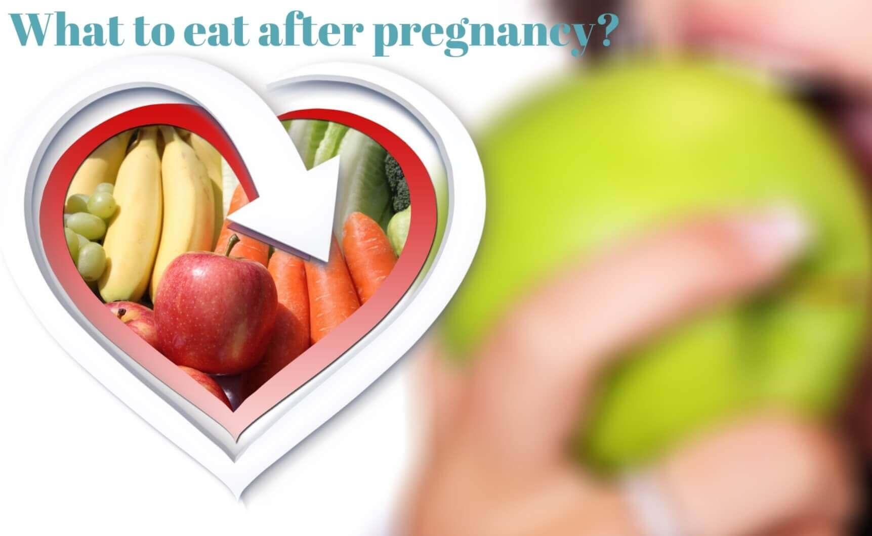 Post pregnancy diet – Babies carrier