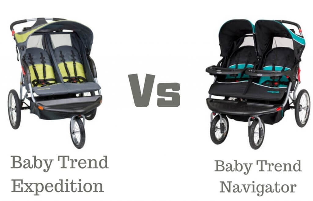 Baby Trend Expedition vs. Navigator - Single & Double ...