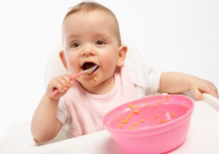 5-Month-Old-Baby-Feeding-Schedule-Solid-Food
