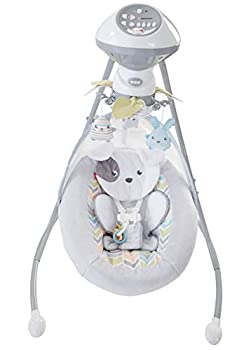 Fisher-Price-Sweet-Snugapuppy-Dreams-Cradle-n-Swing