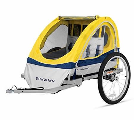 Schwinn-Echo-Bike-Trailer-2-Seats